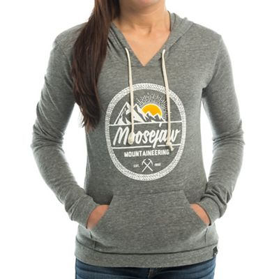 Moosejaw Women's Mountainousnessity Tri-Blend Pullover Hoody