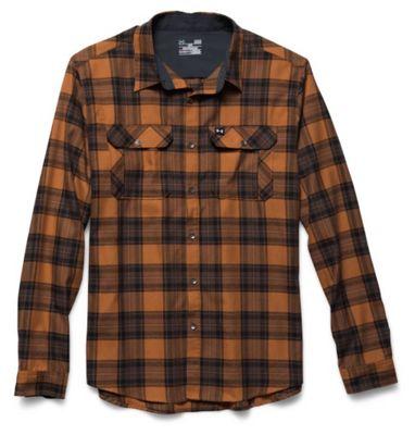Under Armour Men's Borderland Flannel Shirt