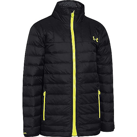 Under Armour Youth ColdGear Infrared Geranimo Jacket Black / Sunbleached