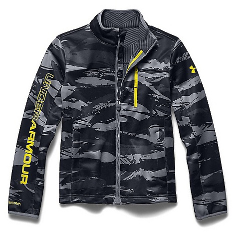 Under Armour Youth ColdGear Infrared Softershell Jacket Steel / Sunbleached