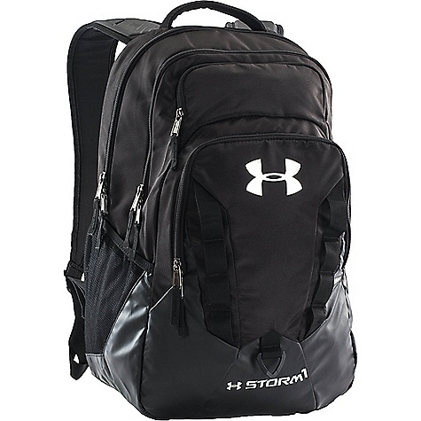 Under Armour Recruit Backpack Black / Steel / Silver