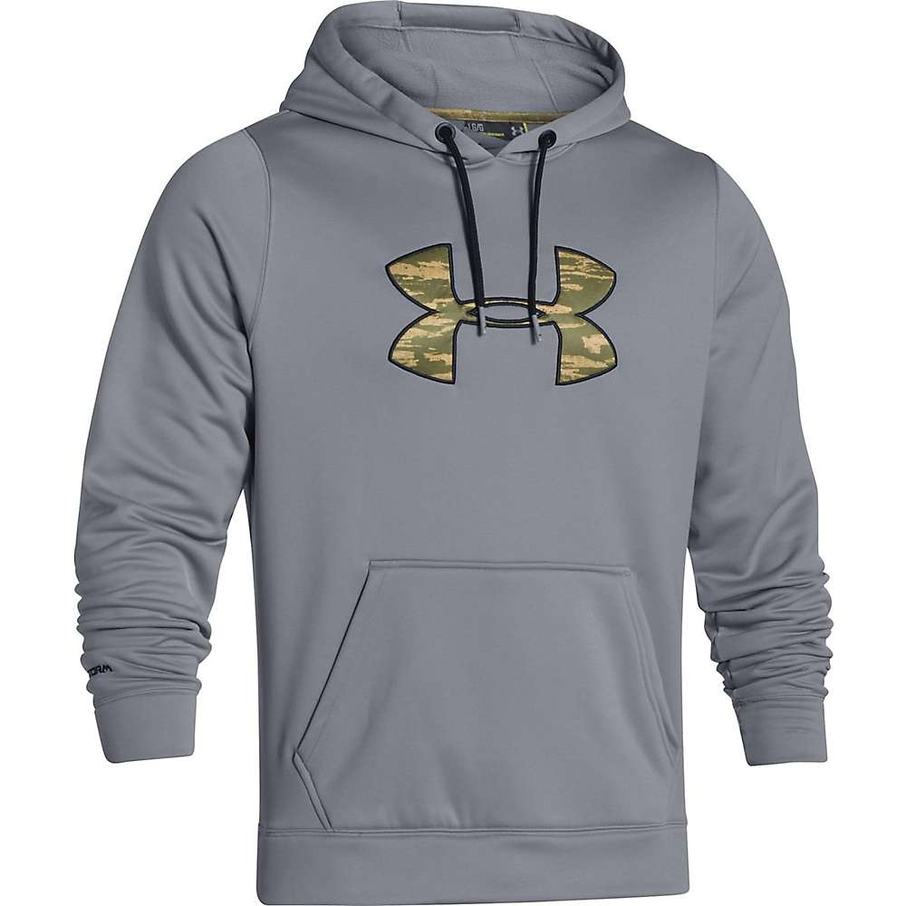 Under Armour Men's Rival Hoodie - Medium - Steel / Black