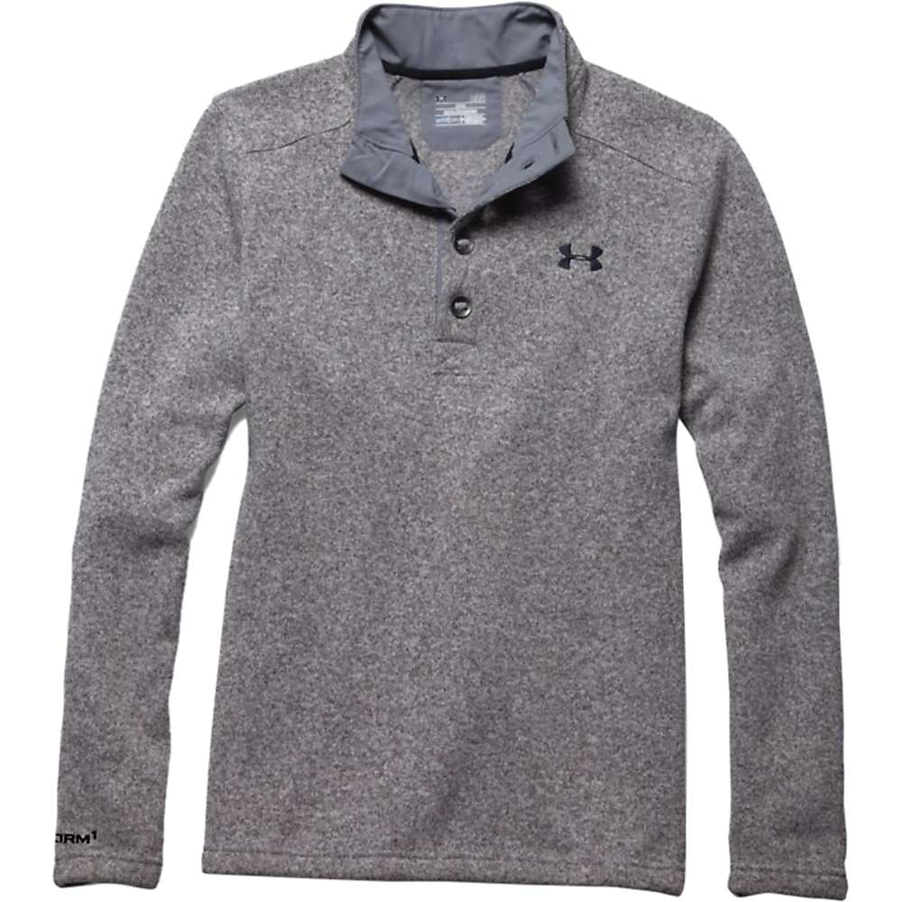 Under Armour Men's Specialist Storm Sweater - Small - Steel / Black
