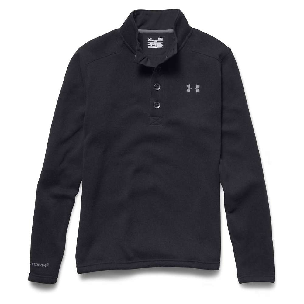 Under Armour Men's Specialist Storm Sweater - Small - Black / Steel
