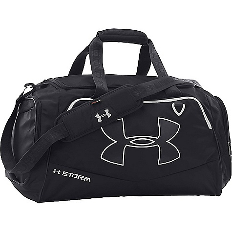 Under Armour Undeniable MD II Duffel Bag Black / Black / White