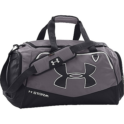 Under Armour Undeniable MD II Duffel Bag Graphite / Black / White