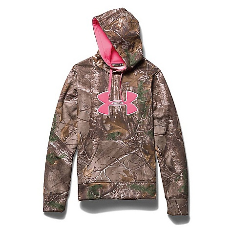 Under Armour Women's Big Logo Hoody Realtree Ap Xtra / Cerise
