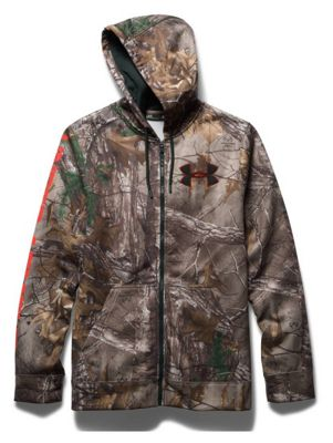 Under Armour Men's ColdGear Infrared Camo Caliber Hoody