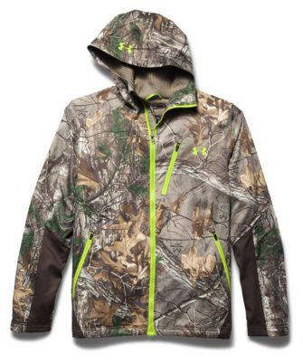 Under Armour Men's Coldgear Infrared Scent Control Barrier Jacket