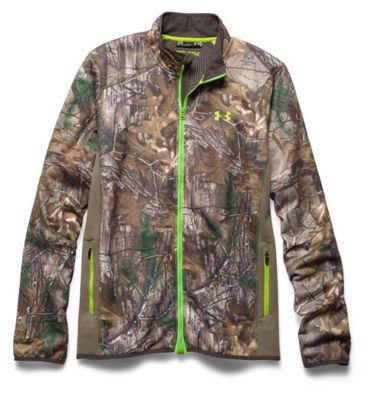 Under Armour Men's Coldgear Infrared Scent Control Fleece Full Zip Jacket