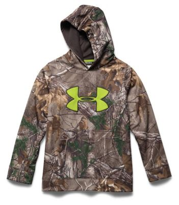 Under Armour Youth Scent Control Fleece Hoody