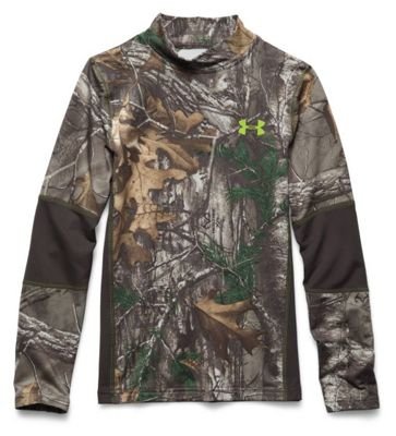 Under Armour Youth Scent Control Tevo Mock