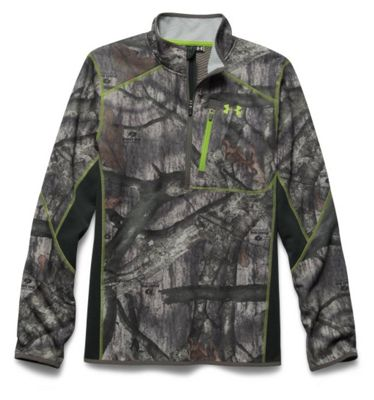 Under Armour Men's Scent Control Armourfleece 1/4 Zip Top