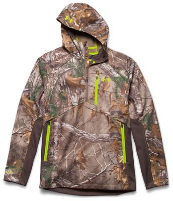 Under Armour Men's Coldgear Infrared Scent Control Softershell Anorak Jacket