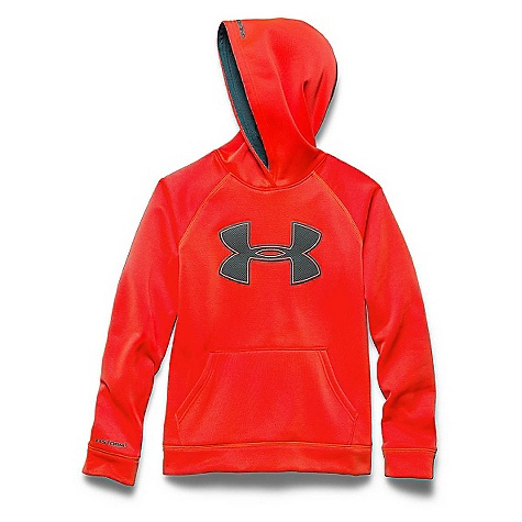 Under Armour Boys'' Armour Fleece Storm Big Logo Hoody 1259690
