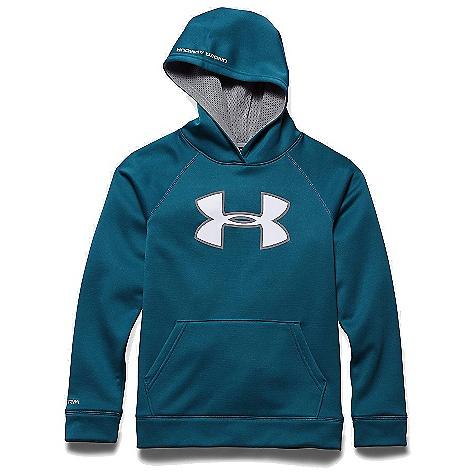Under Armour Boys'' Armour Fleece Storm Big Logo Hoody 1259690