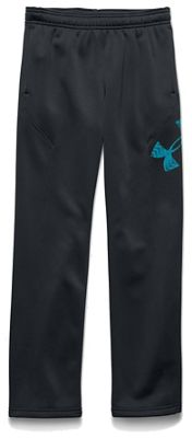 Under Armour Boys' Armour Fleece Storm Big Logo Pant