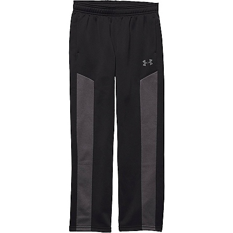 Under Armour Boys' Armour Fleece Storm Pant Black / Carbon Heather / Graphite