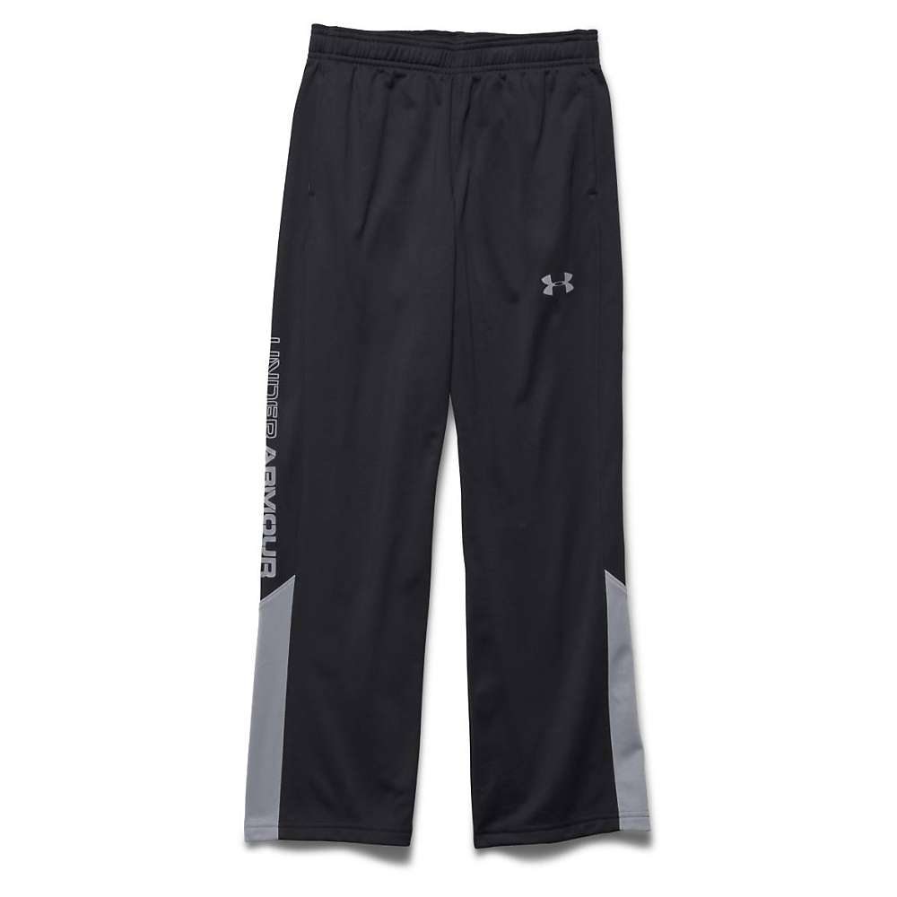 Under Armour Boys' UA Brawler 2.0 Pant - Large - Black / Steel 001