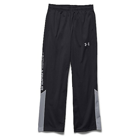 Under Armour Boys' UA Brawler 2.0 Pant Black / Steel 001