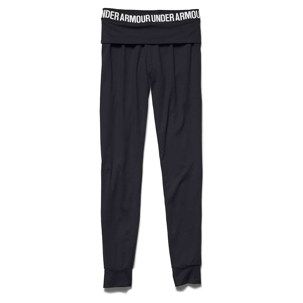 Under Armour Women's Downtown Knit Jogger Pant - XS - Black / Metallic Silver