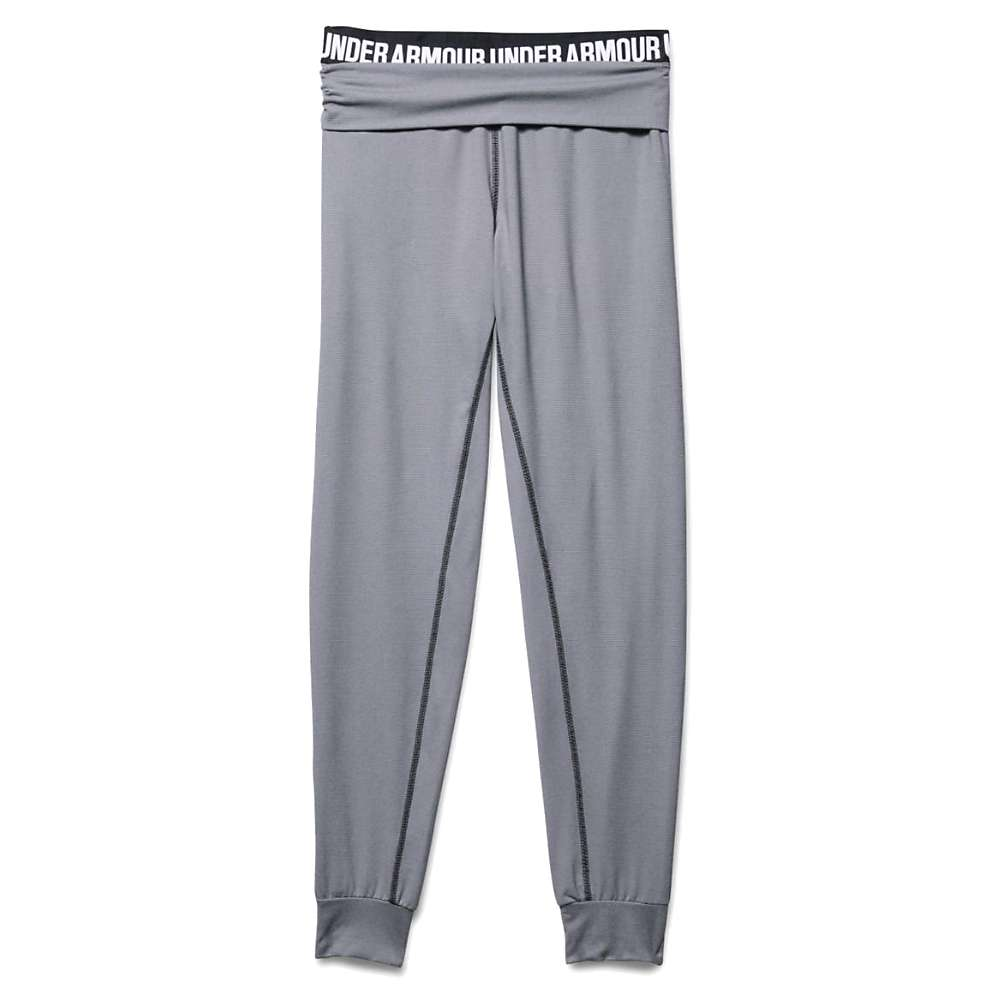 Under Armour Women's Downtown Knit Jogger Pant - XL - Black / White / Silver