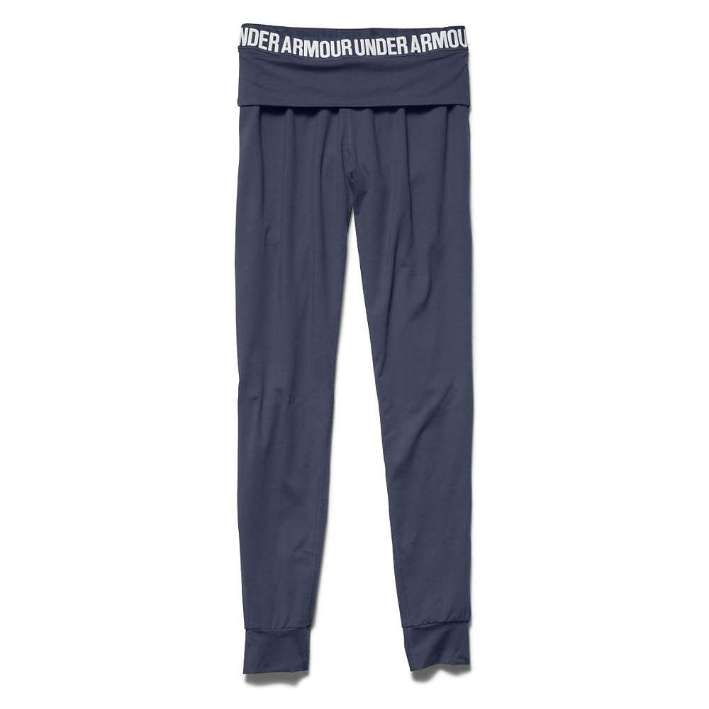 Under Armour Women's Downtown Knit Jogger Pant - Small - Mechanic Blue / Metallic Pewter