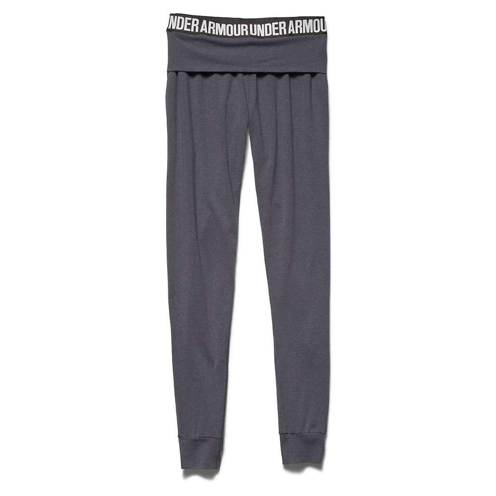 Under Armour Women's Downtown Knit Jogger Pant - Large - Phantom Gray / Metallic Pewter