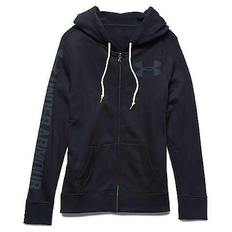 Under Armour Women's Favorite Fleece Full Zip Hoody Black / Black