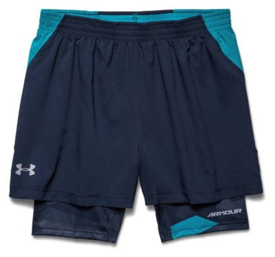 Under Armour Men's Launch Racer 2 In 1 Short
