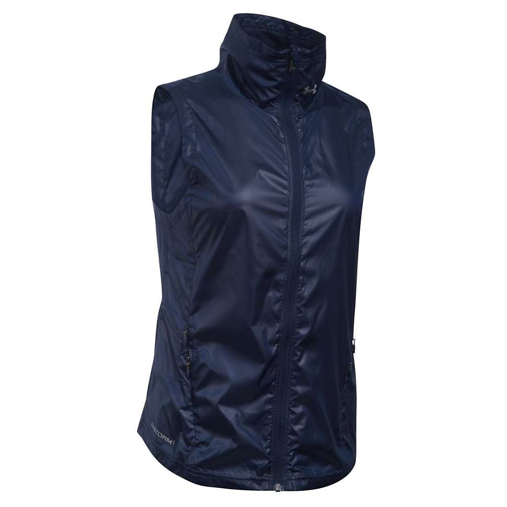 Under Armour Women's Layered Up! Storm Vest - XS - Midnight Navy / Reflective