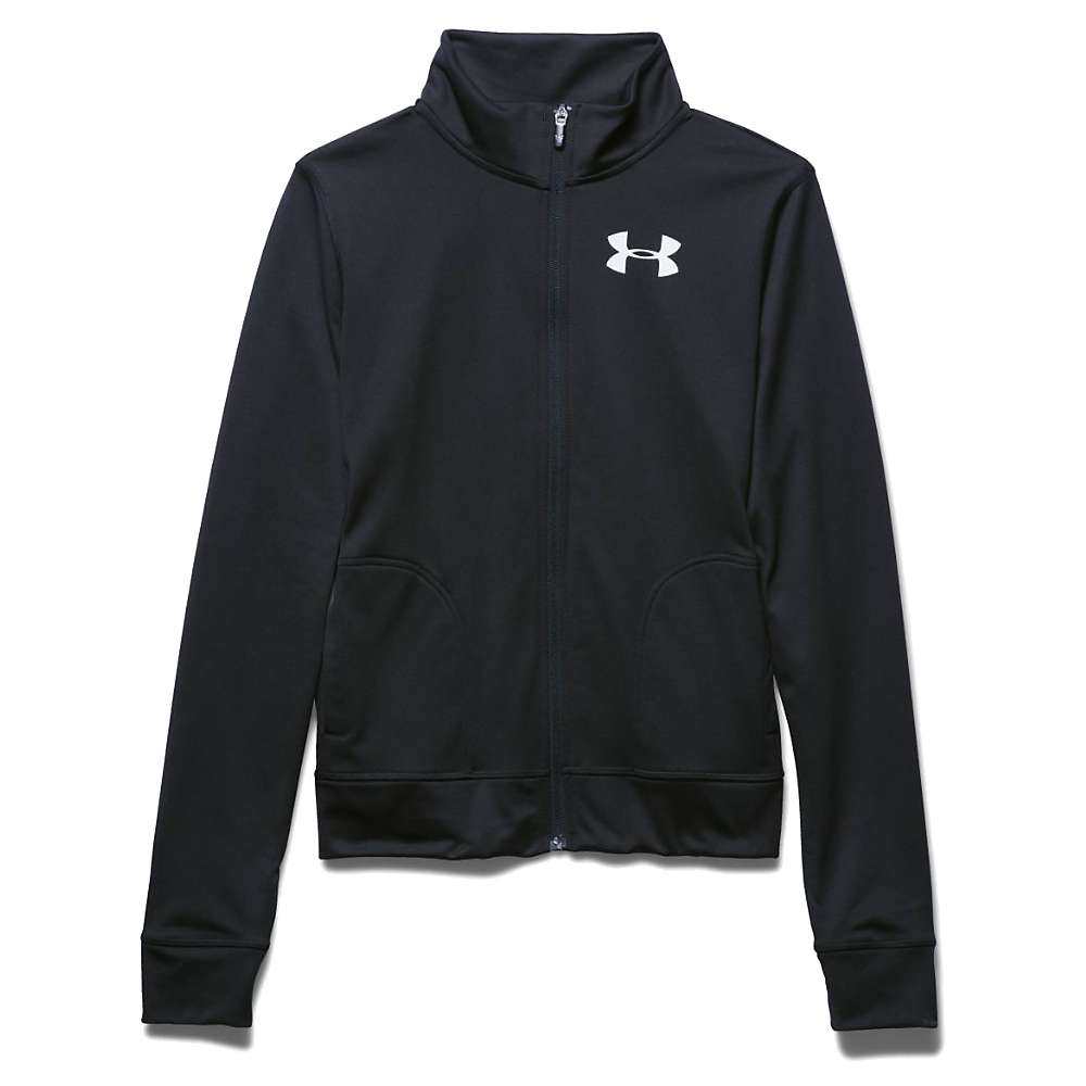 Under Armour Women's Rival Tricot Jacket - XS - Black / White