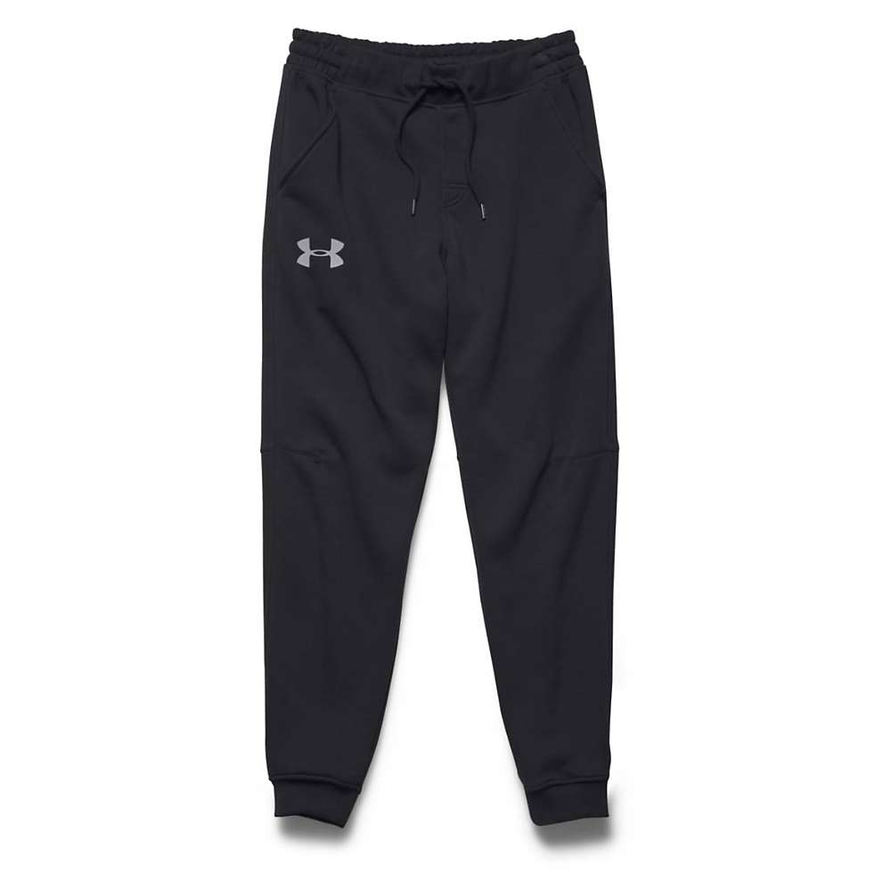 Under Armour Men's Rival Cotton Jogger Pant - Large - Black / Steel