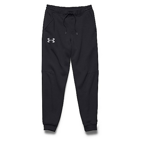 Under Armour Men's Rival Cotton Jogger Pant Black / Steel