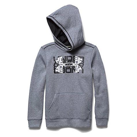 Under Armour Boys' Rival Cotton Logo X2 Hoody 2765381