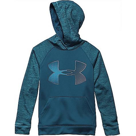 Under Armour Boys'' Storm Armour Fleece Jumbo Big Logo Hoody 1264658