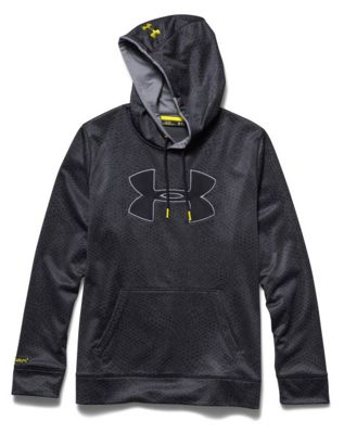 Under Armour Men's Storm Armour Fleece Big Logo Printed Hoody