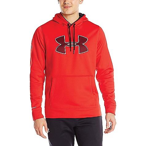 Under Armour Men's Storm Armour Fleece Big Logo Hoody Red / Black / Steel