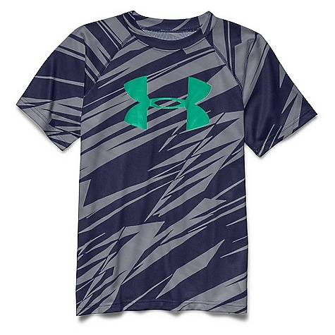 Under Armour Boys'' Tech Big Logo Printed SS Tee 1254163