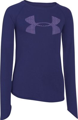 Under Armour Girls' Waffle LS Top