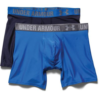 Under Armour Men's Heatgear 6 Inch Boxerjock 2 Pack