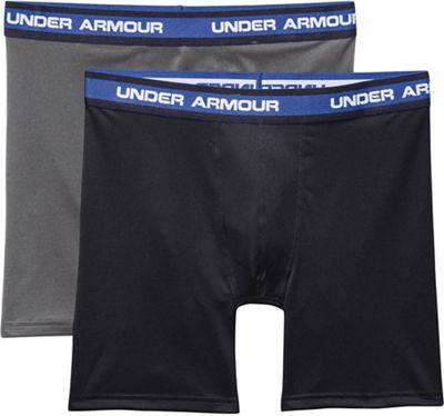 Under Armour Men's Performance Mesh 6 Inch Boxerjock 2 Pack