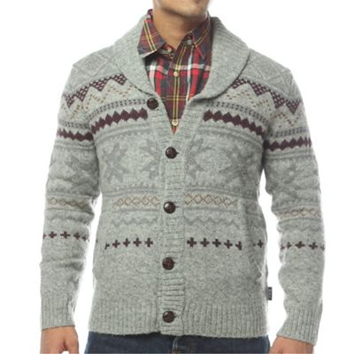 Woolrich Men's Ultra-Line Fair Isle Cardigan