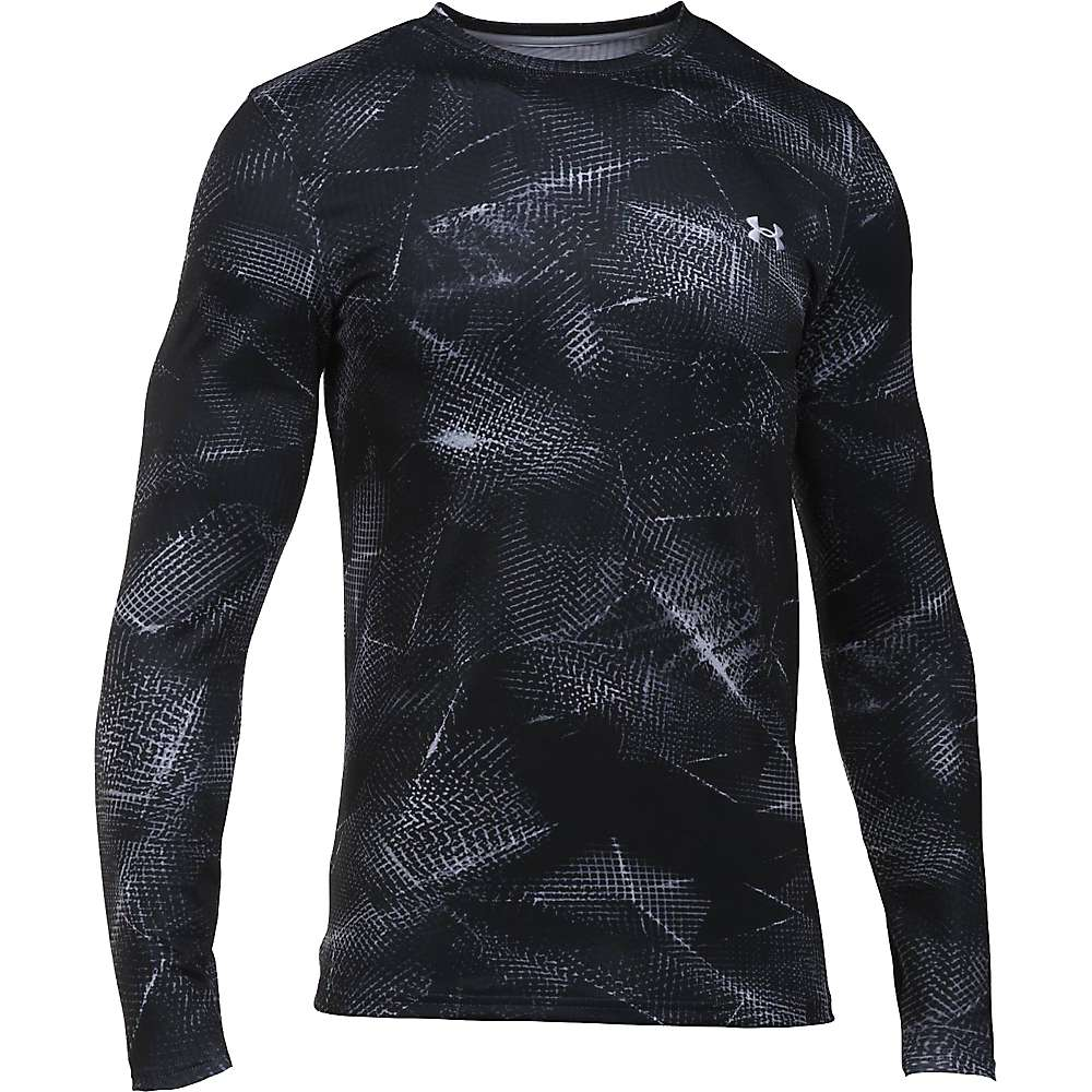 Under Armour Men's ColdGear Infrared Evo Crew - Large - Black / White