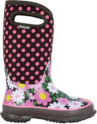 Bogs Youth Classic Flower Dots Boot