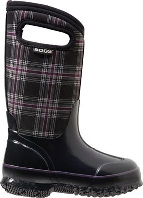 Bogs Youth Classic Winter Plaid Boot