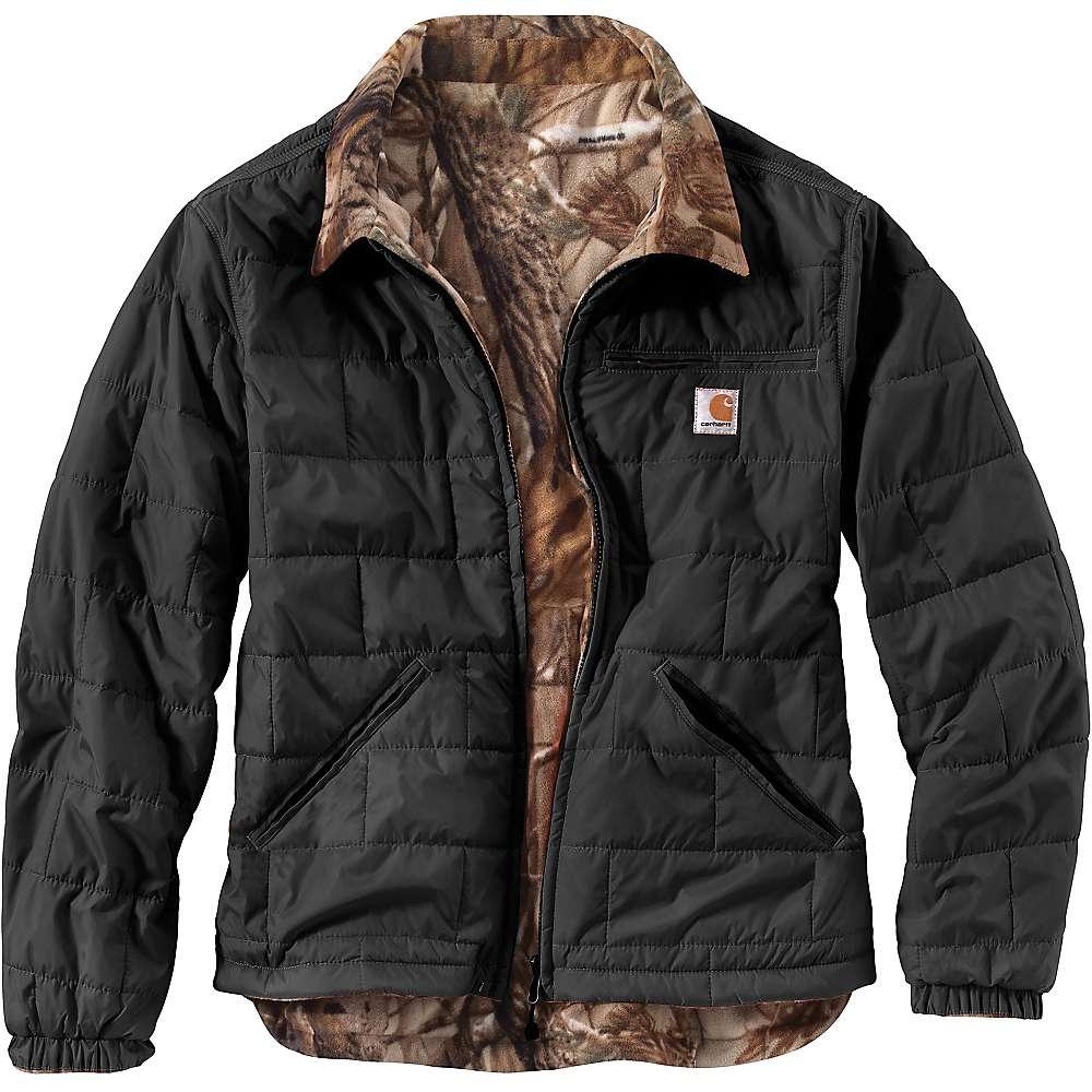 Carhartt Men's Woodsville Jacket - XXL Regular - Black / Realtree Xtra Lining
