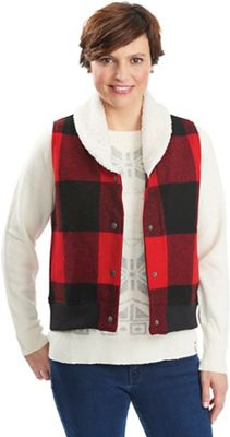 Woolrich Women's Gaint Buffalo Wool Vest