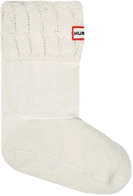 Hunter Kids' 6 Stitch Cable Boot Sock
