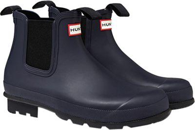 Hunter Men's Original Dark Sole One Tab Chelsea Boot